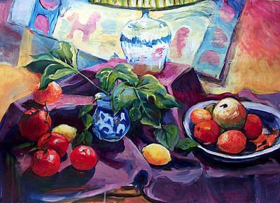 Painting - Shedding A Light by Nanci Cook