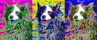 Warm Fuzzy Puppy Photograph - Sheep Dog Three 20130125 by Wingsdomain Art and Photography