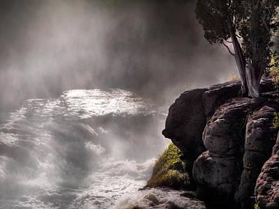Photograph - Sheep Falls Mist by Leland D Howard