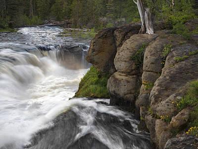 Photograph - Sheep Falls Spring by Leland D Howard