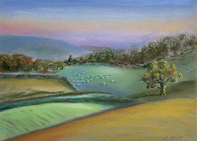 Painting - Sheep In The Dales by Jo Appleby