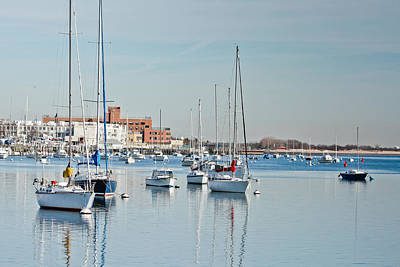Photograph - Sheepshead Bay Harbor #2 by Ann Murphy