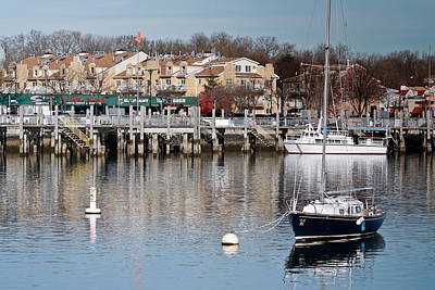 Photograph - Sheepshead Bay Harbor #3 by Ann Murphy