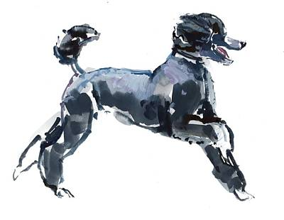 Doggy Painting - Sheer Class by Mark Adlington