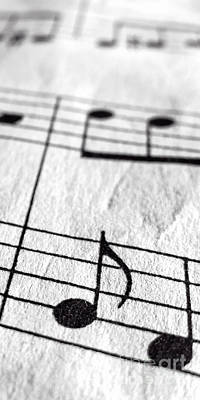 Musicians Photo Royalty Free Images - Sheet Music Phone Case Royalty-Free Image by Edward Fielding