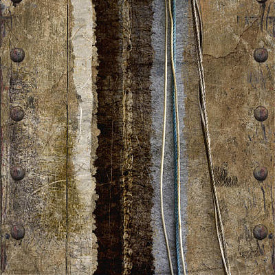 Rivets Photograph - Sheetmetal Strings by Carol Leigh