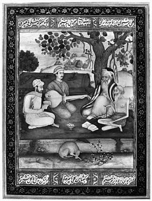 Starving Painting - Sheikh Salim Chisti (1478-1572) by Granger