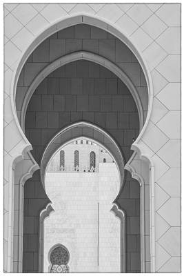 Photograph - Sheikh Zayed Grand Mosque Abu Dhabi Uae by Judith Barath