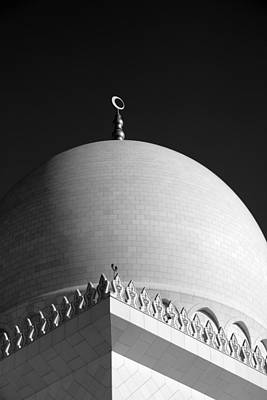 Sheikh Zayed Grand Mosque Art Print by Myles Cummings
