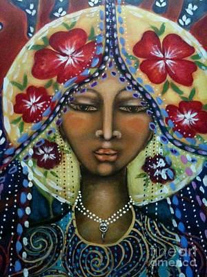 Painting - Shekinah Rising  by Maya Telford