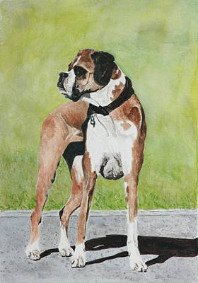 Painting - Shelby by Betty-Anne McDonald