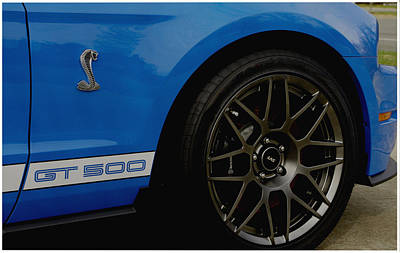 Photograph - Shelby Cobra Gt 500 / Ford by James C Thomas