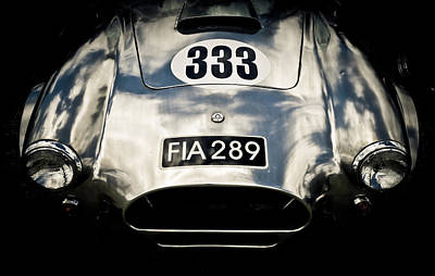 Shelby Cobra Art Print by Phil 'motography' Clark