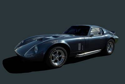 Photograph - Shelby Daytona Coupe Replica by Tim McCullough