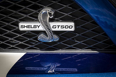 Photograph - Shelby Gt 500 by Jack R Perry
