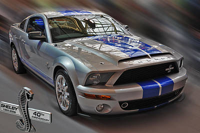 Photograph - Shelby Gt500kr 2008 by Dragan Kudjerski