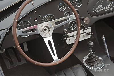 Photograph - Shelby Motors Roadster Signed By Carroll Shelby by David Zanzinger
