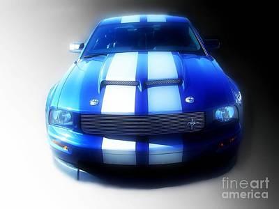 Photograph - Shelby Mustang by Scott B Bennett