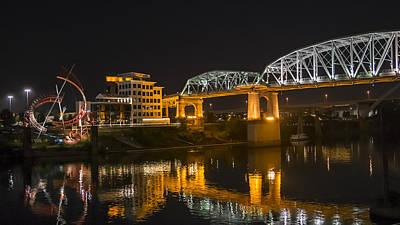 Shelby Street Bridge Nashville Art Print