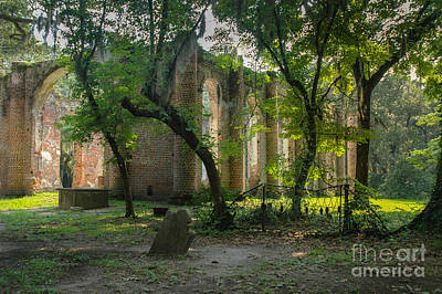 Photograph - Lowcountry Sheldon Church Ruins by Dale Powell