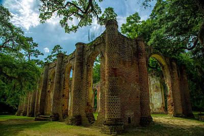 Sheldon Church Ruins Original by Gestalt Imagery