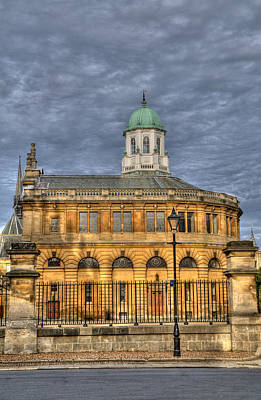 Photograph - Sheldonian Theatre by Mick House