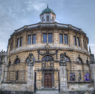 Photograph - Sheldonian Theatre Oxford by Chris Day