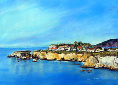 Painting - Shell Beach California by Hilda Vandergriff