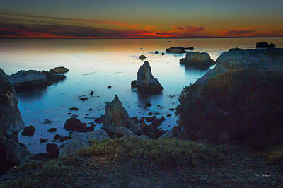 Photograph - Shell Beach Sunset by Tim Bryan