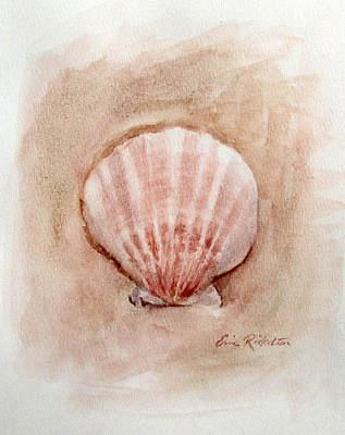 Painting - Shell by Erin Rickelton