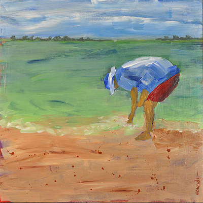 Painting - Shell Game by Paulette B Wright