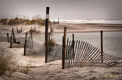 Art Print featuring the photograph Shell Island Hurricane Sandy by Phil Mancuso