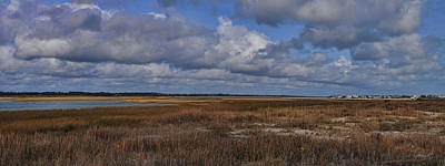 Photograph - Shell Island To Figure Eight Panorama by Paulette B Wright