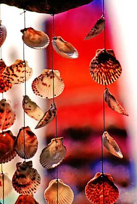 Shell Mobile Art Print by Mike Flynn