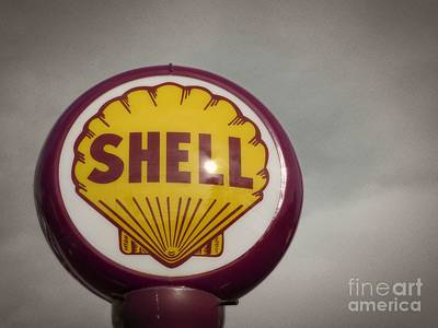 Photograph - Shell Oil Globe by Dawn Gari