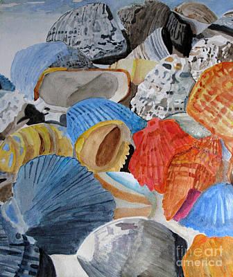 Shellers Delight Art Print