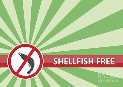 Royalty-Free and Rights-Managed Images - Shellfish Free Banner by Tim Hester