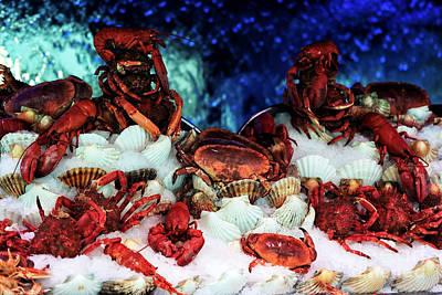 Photograph - Shellfish by John Rizzuto