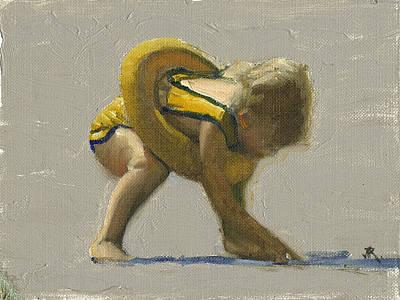 Painting - Shelling by John Reynolds