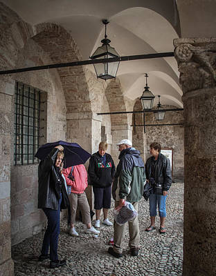 Photograph - Shelter From The Rain In Norcia - June 1 by Dwight Theall