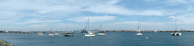 Shelter Island Panorama Art Print