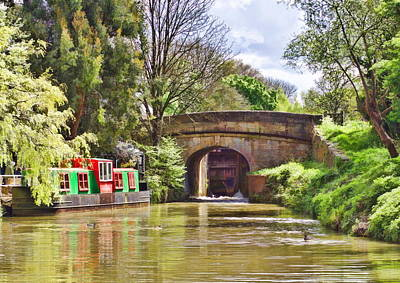 Photograph - Sheltered Mooring by Paul Gulliver