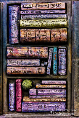 Photograph - Shelved - 14 by Christopher Holmes