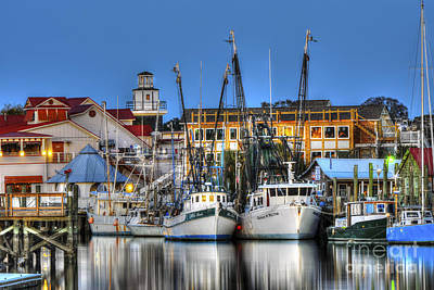 Shem Creek Art Print by Dale Powell