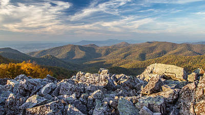 Photograph - Shenandoah Black Rock Mountain by Pierre Leclerc Photography