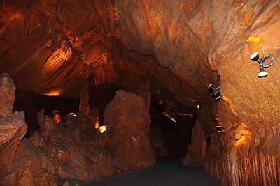 Cavern Photograph - Shenandoah Caverns - 121272 by DC Photographer