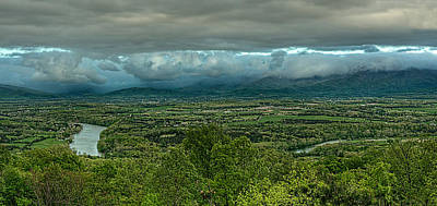 Spring Scenes Photograph - Shenandoah Green Valley by Lara Ellis