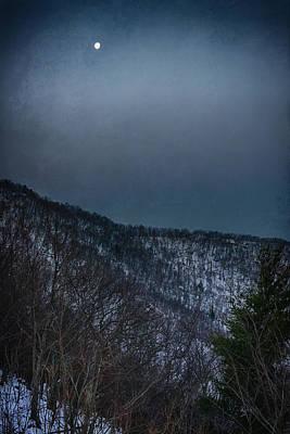 Shenandoah Moonset Original