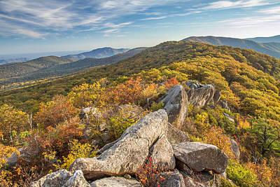 Photograph - Shenandoah National Park Mary's Rock  by Pierre Leclerc Photography