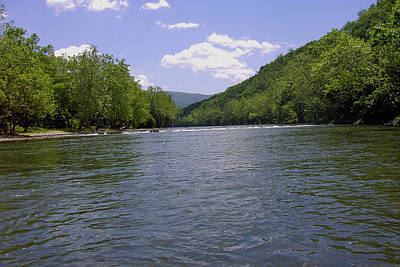 Photograph - Shenandoah River by Jeanne Donnelly